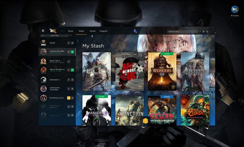 Stash page - year of gaming
